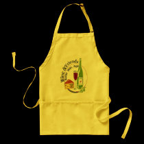 Wine and Friends aprons