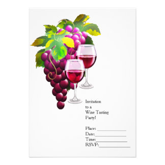 Wine and Grapes Card