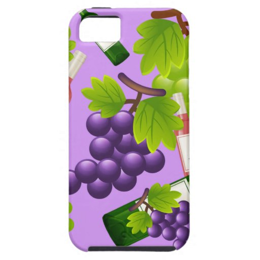 Wine and Grapes iPhone 5 Cover
