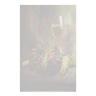 Wine And Grapes Stationery