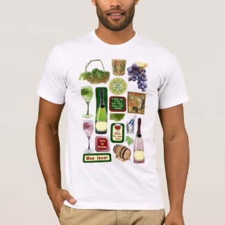 Wine and grapes T-Shirt