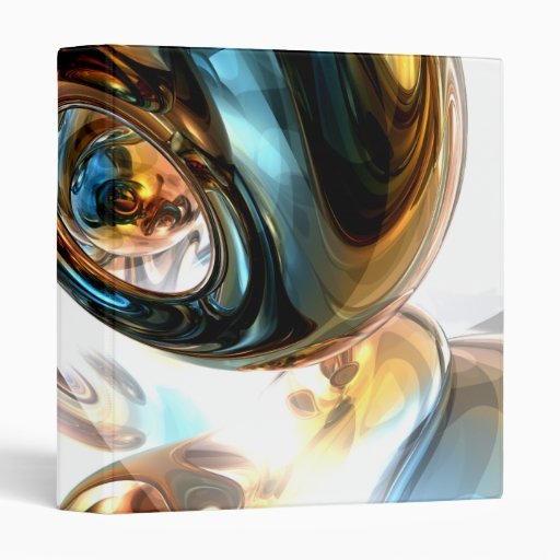 Wine and Spirits Abstract Binder