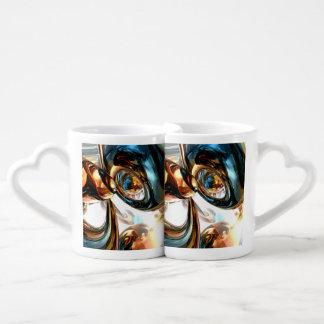 Wine and Spirits Abstract Coffee Mug Set