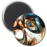 Wine and Spirits Abstract Magnet