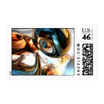 Wine and Spirits Abstract Stamp