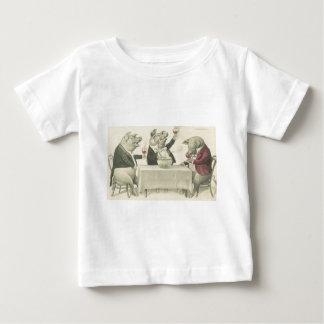 wine ang pigs and bowl baby T-Shirt