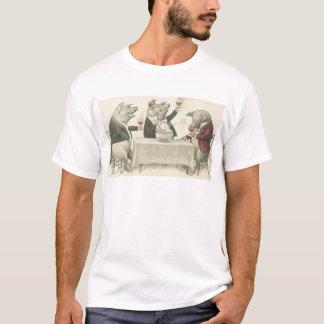 wine ang pigs and bowl T-Shirt