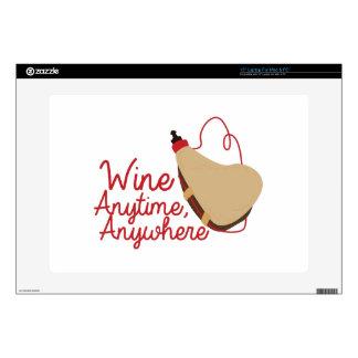 """Wine Anytime Skins For 15"""" Laptops"""