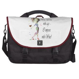 Wine Art Designs Messenger Bags Commuter Bag