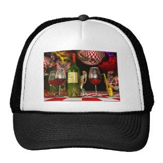 Wine Art Trucker Hat
