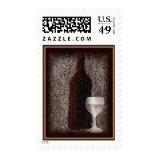 Wine art U.S. $0.44 Stamp