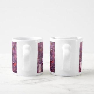 Wine at the beach coffee mug set