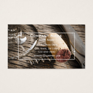 Wine Bar Business Card