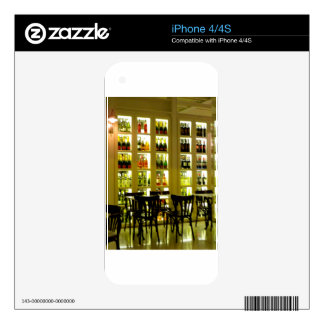 Wine Bar Skin For iPhone 4S