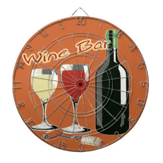 Wine Bar - Wine Dart Board