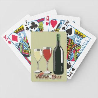 Wine Bar - Wine Playing Cards