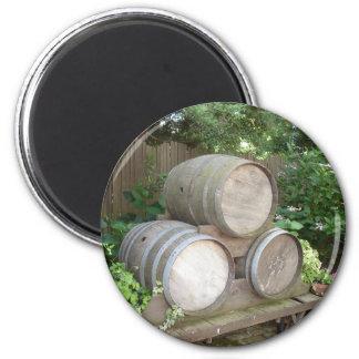 Wine Barrel Magnet