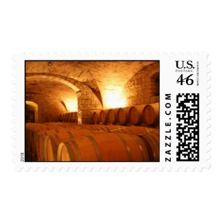 Wine Barrel Stamp stamp