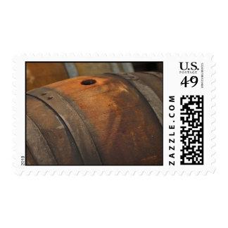 Wine Barrel used to Store Vintage Wine Postage