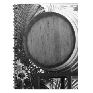 Wine Barrell Notebook