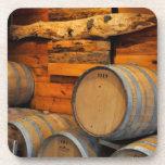 wine barrels beverage coasters
