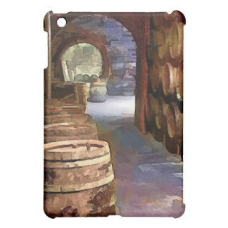 Wine Barrels in the Wine ar iPad Mini Case