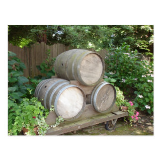 Wine Barrels - Wine Country Postcards