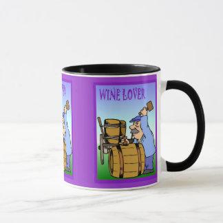 Wine barrels, Wine lover Mug