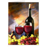 Wine Before and After Greeting Cards