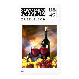Wine Before and After Stamp