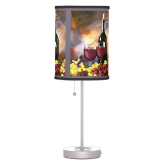 Wine Before and After Table Lamp