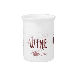 Wine Beverage Pitcher