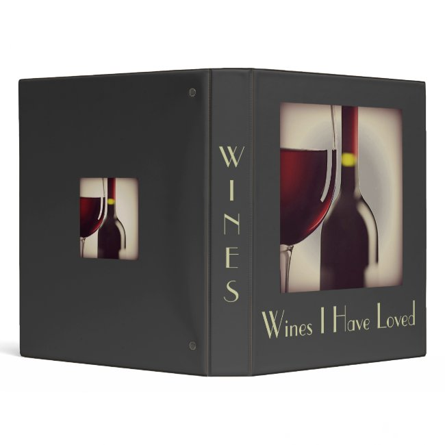 Wine  Binder