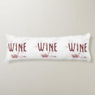 Wine Body Pillow
