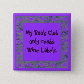 wine book club pin