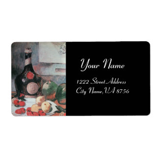 WINE BOTTLE AND FRUITS  ,WINE TASTING PARTY LABELS