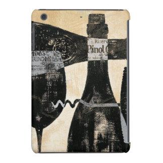 Wine Bottle and Glass iPad Mini Retina Cover