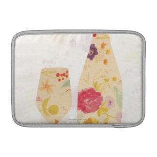 Wine Bottle and Glass Sleeve For MacBook Air