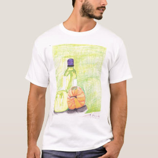 Wine bottle and melons T-Shirt
