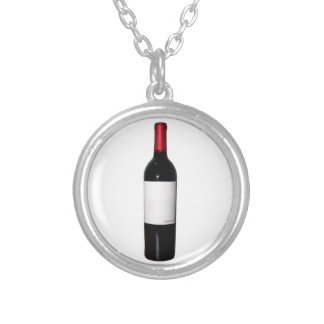 Wine Bottle (Blank Label) Necklace