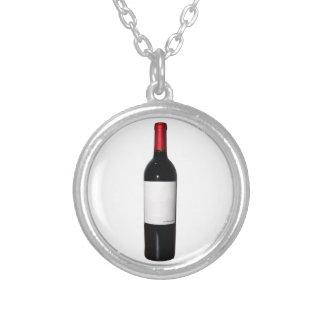 Wine Bottle (Blank Label) Necklace