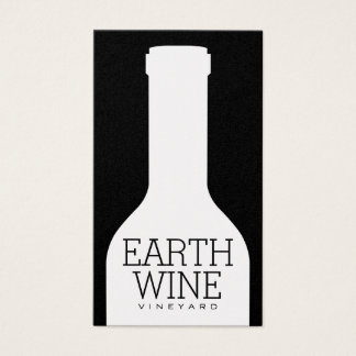 Wine Bottle Business Card