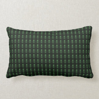 Wine Bottle Cap Green Pattern DIY add TEXT PHOTO Lumbar Pillow