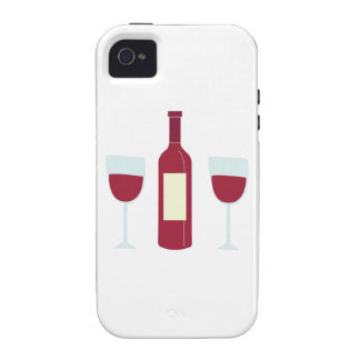 Wine Bottle iPhone 4 Cover