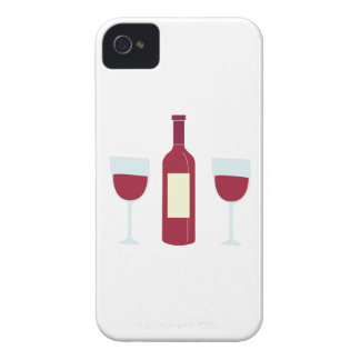 Wine Bottle iPhone 4 Case-Mate Cases