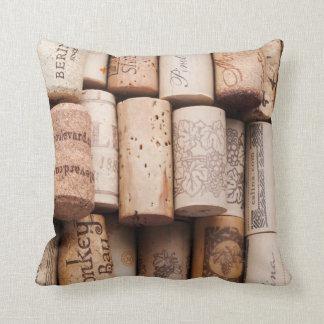 Wine Bottle Corks Pillow