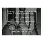 """Wine Bottle Corporate Event Invitations 5"""" X 7"""" Invitation Card"""