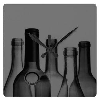 Wine Bottle Custom Wall Clock