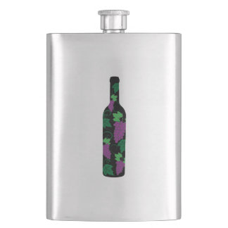 Wine Bottle Dark Flask
