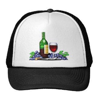 Wine Bottle & Glass Hat